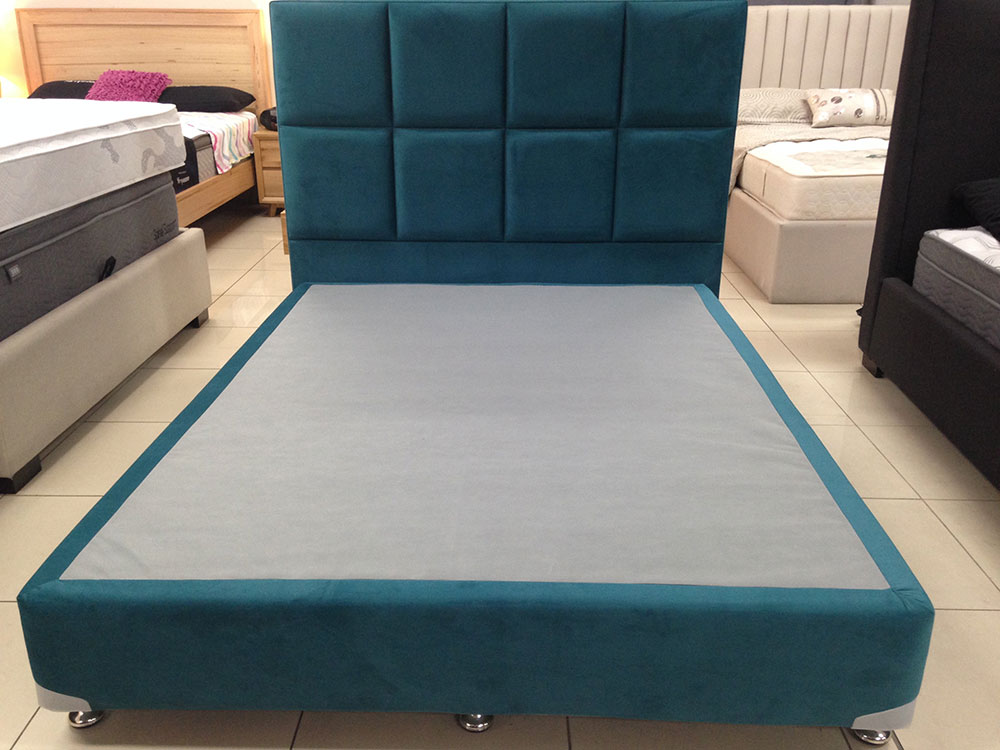 Lucy Bed Base with Bedhead and Mattress