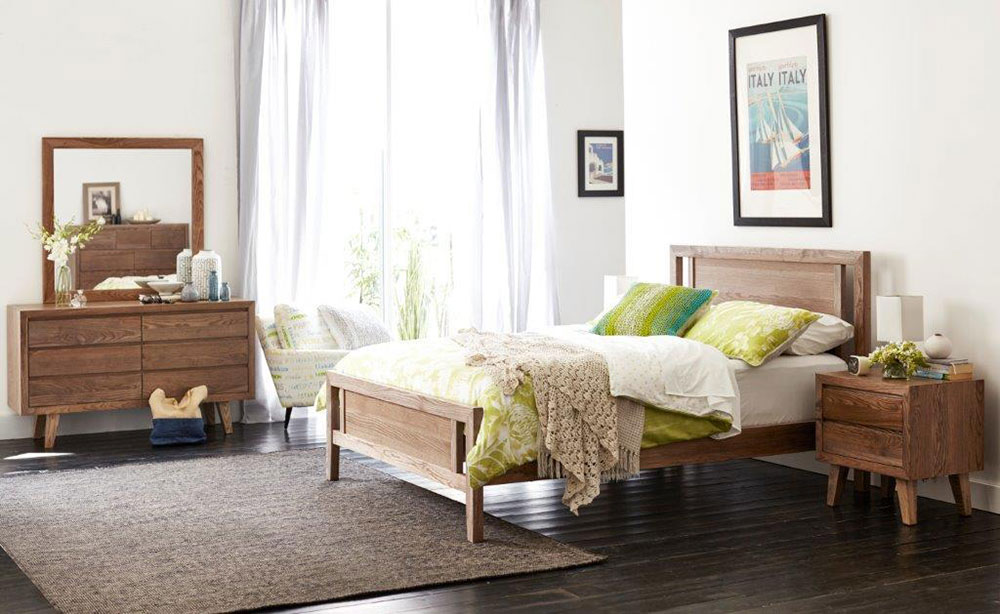 Ascension Timber Bed Frame