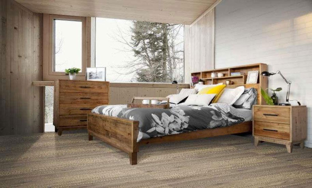 Frobe Timber Bed Frame