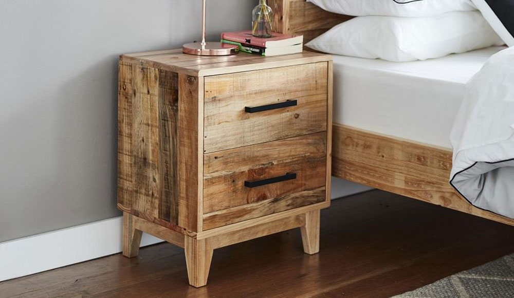 Frobe Bedside Table