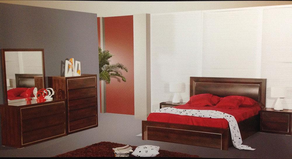 Santorini 4 Piece Bedroom Suite