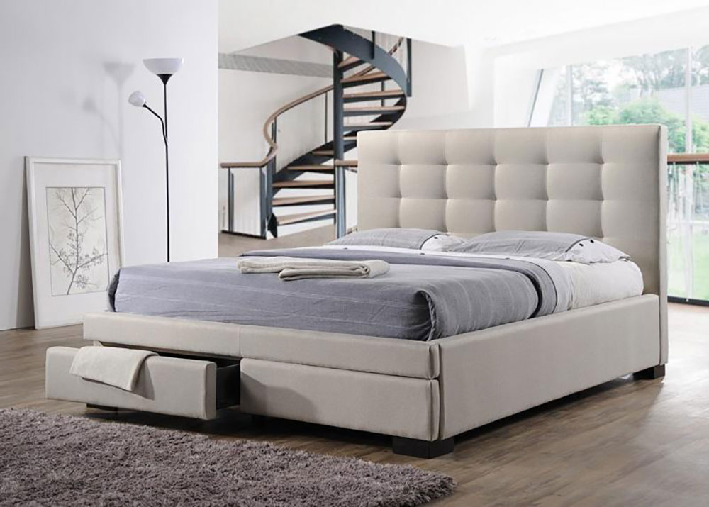 Bronte 2 Drawers Bed Frame