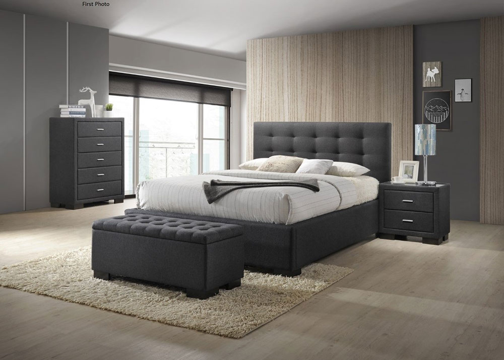 Bronte Gas Lift Bed Frame