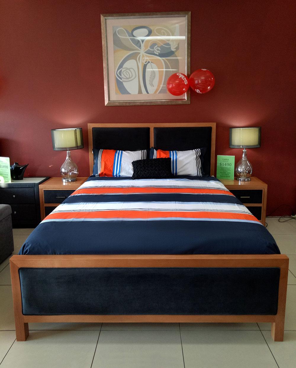 Carra 4 Piece Bedroom Suite
