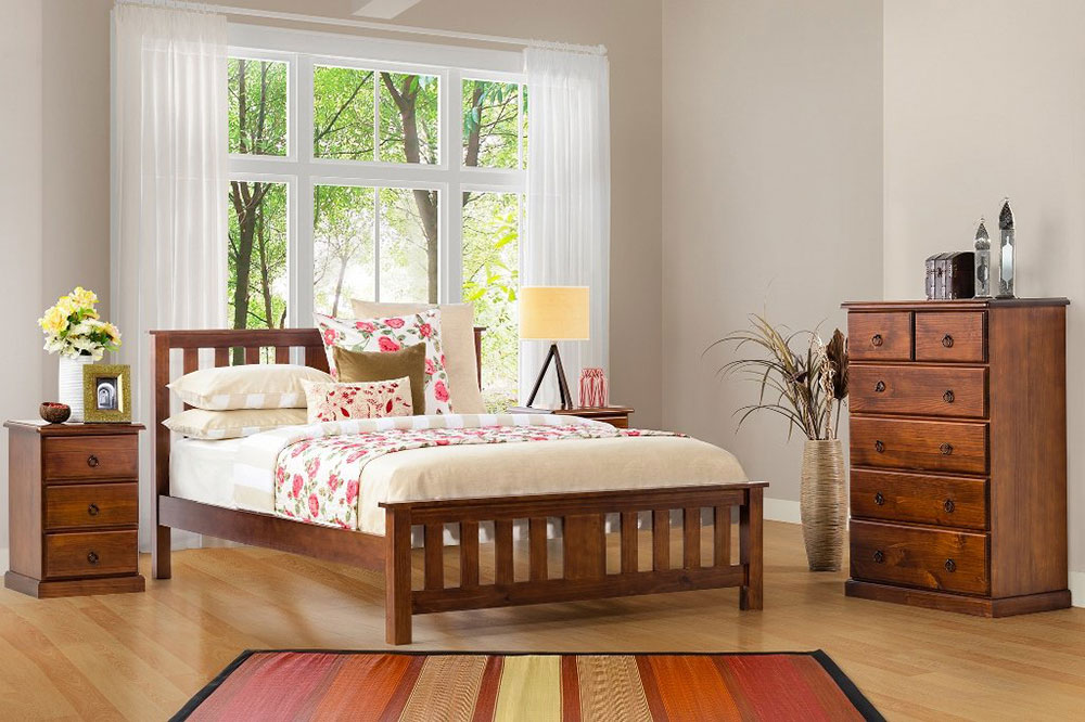 Carrington Timber Bed Frame