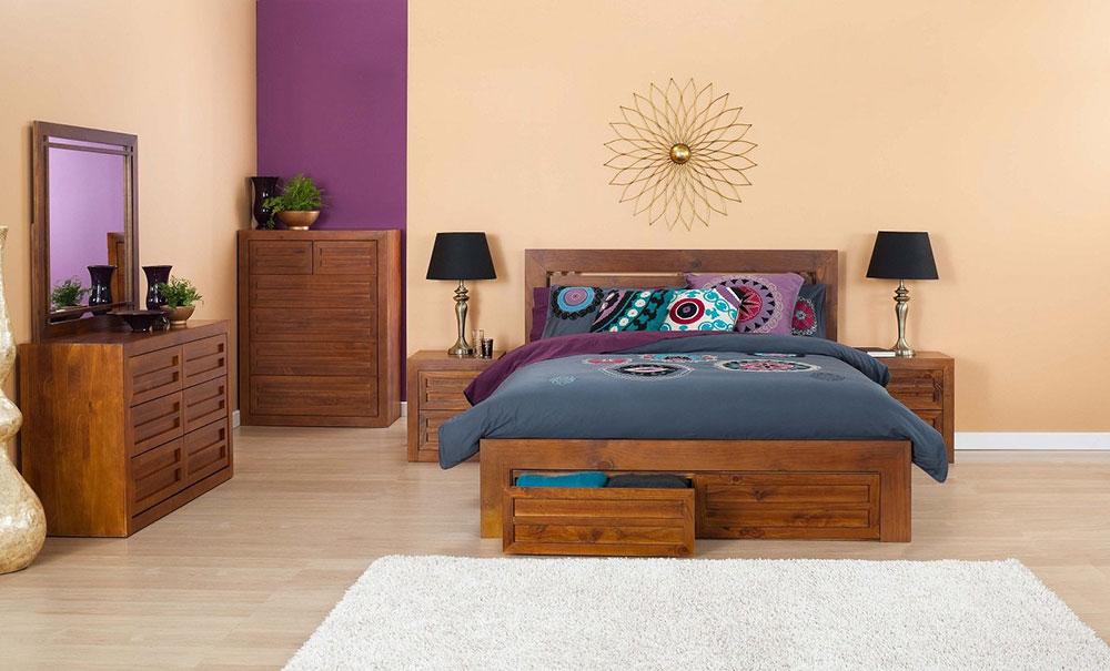 Cube 3 Piece bedroom Suite