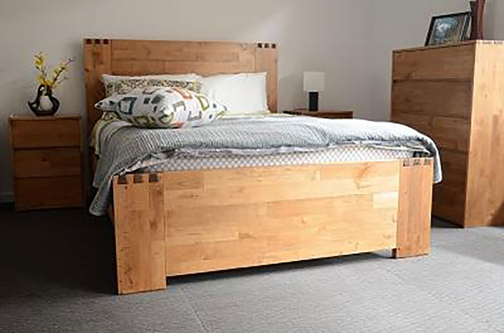 Dovetail Timber Bed Frame
