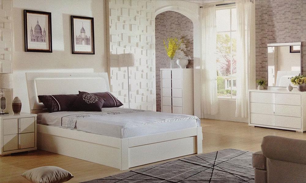 Manhattan 4 Piece Bedroom Suite Beds, White Bedroom Furniture Packages