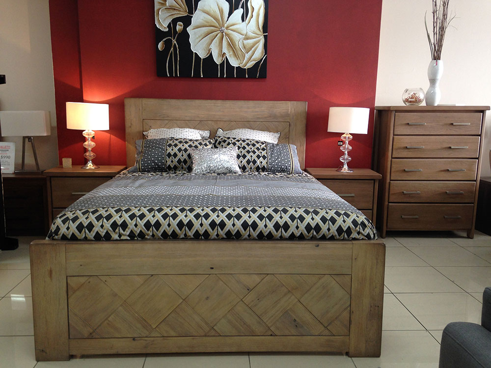 Morrocco 4 Piece Bedroom Suite