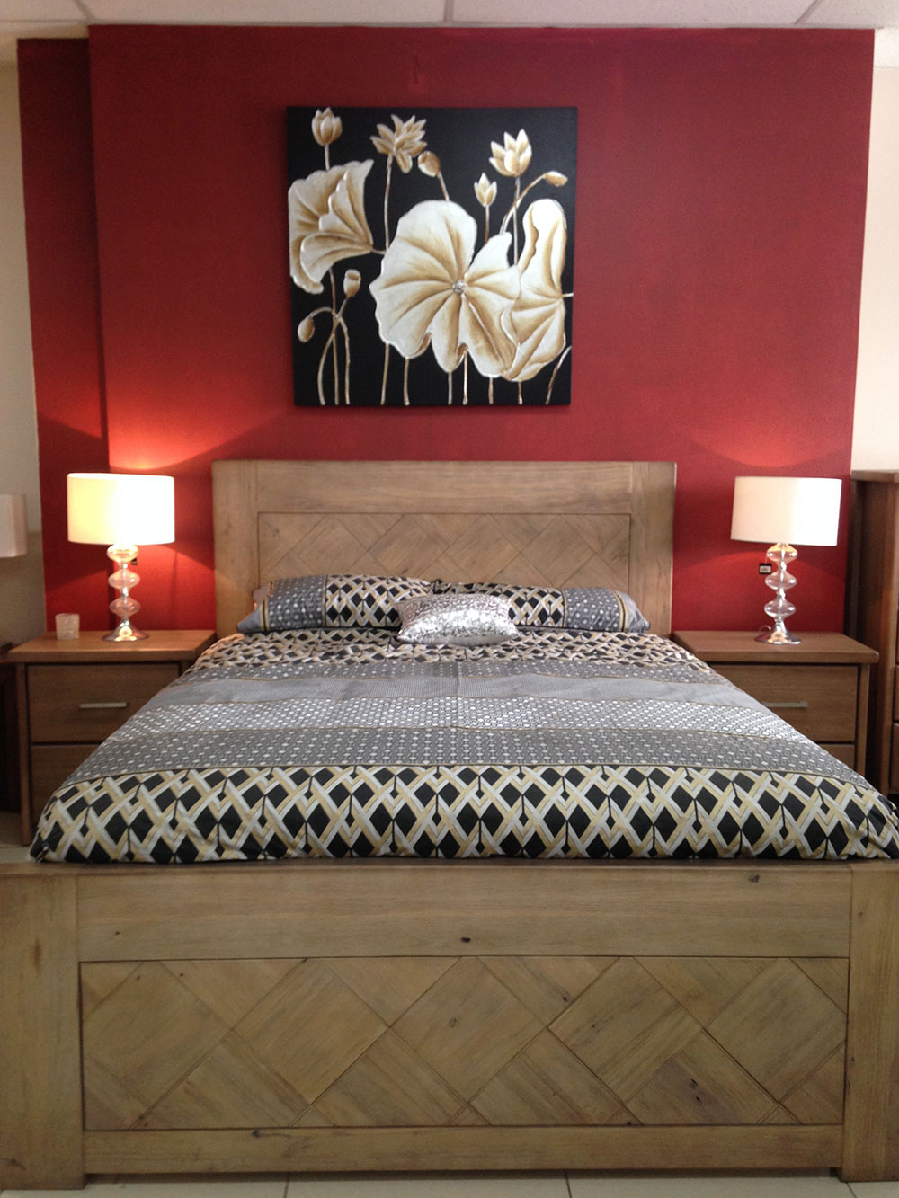 Morrocco Timber Bed Frame