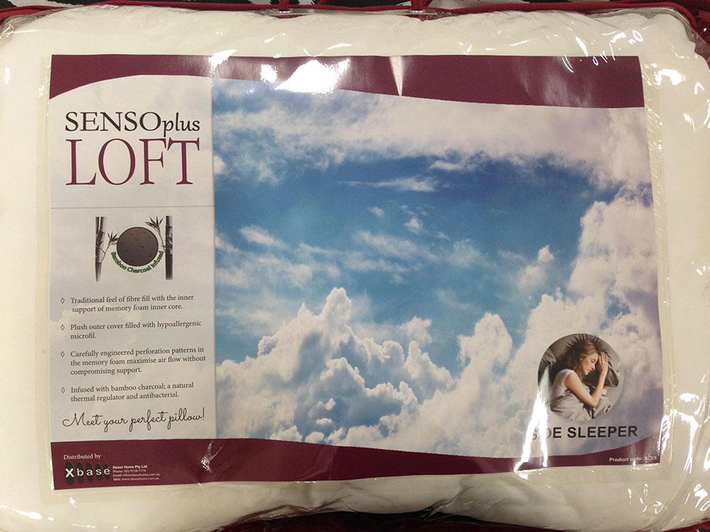 Senso Plus Loft Pillow