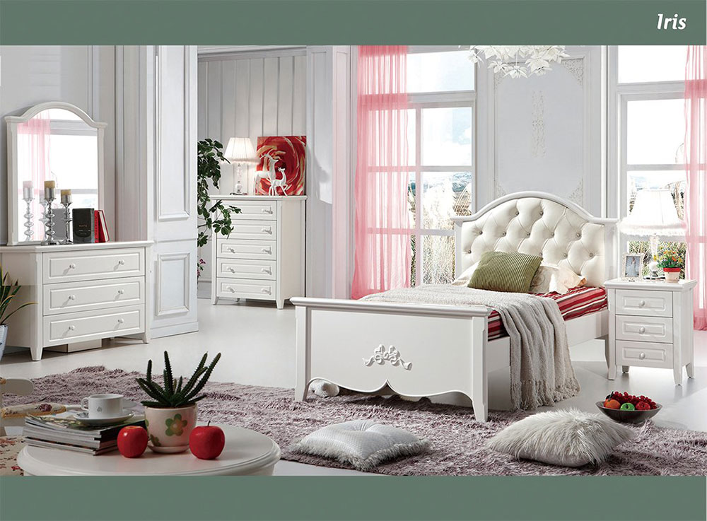 Iris 3 Piece Bedroom Suite