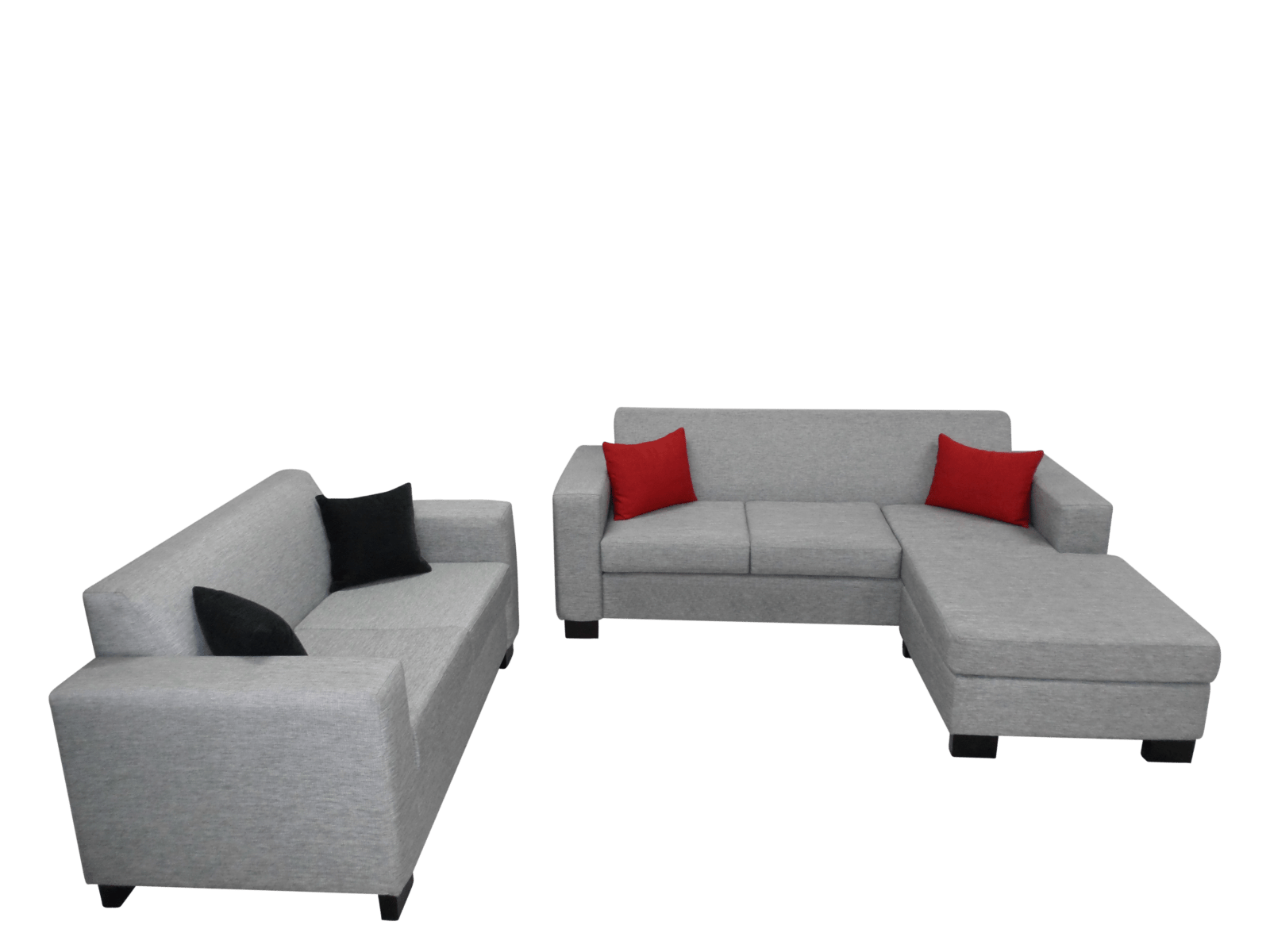 Kevin 2 Seater Chaise + 2 Seater Sofa