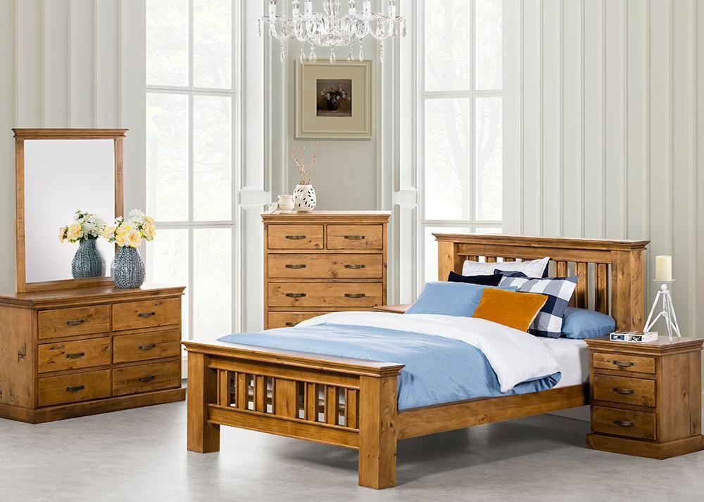 Kipling 4 Piece Bedroom Suite