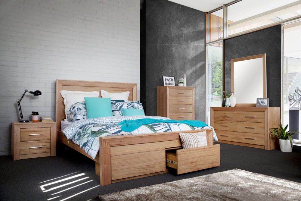 Leura 4 Piece Bedroom Suite