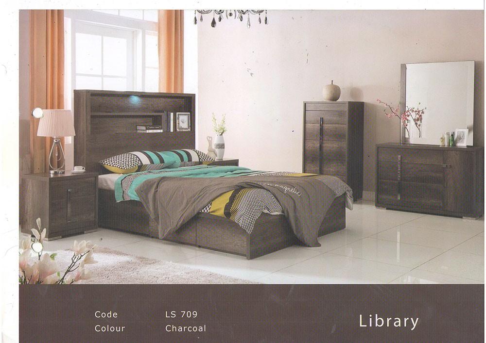 Library 4 Piece Bedroom Suite