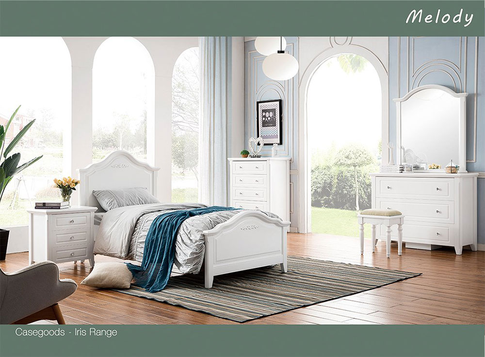Melody 3 Piece Bedroom Suite
