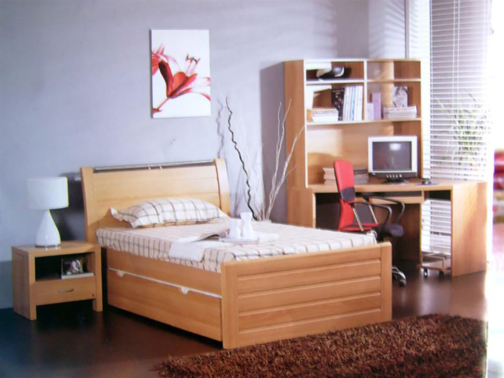 Milan King Single Bed Frame