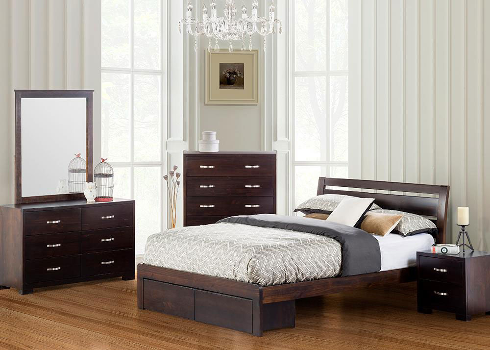 Montana Timber Bed Frame