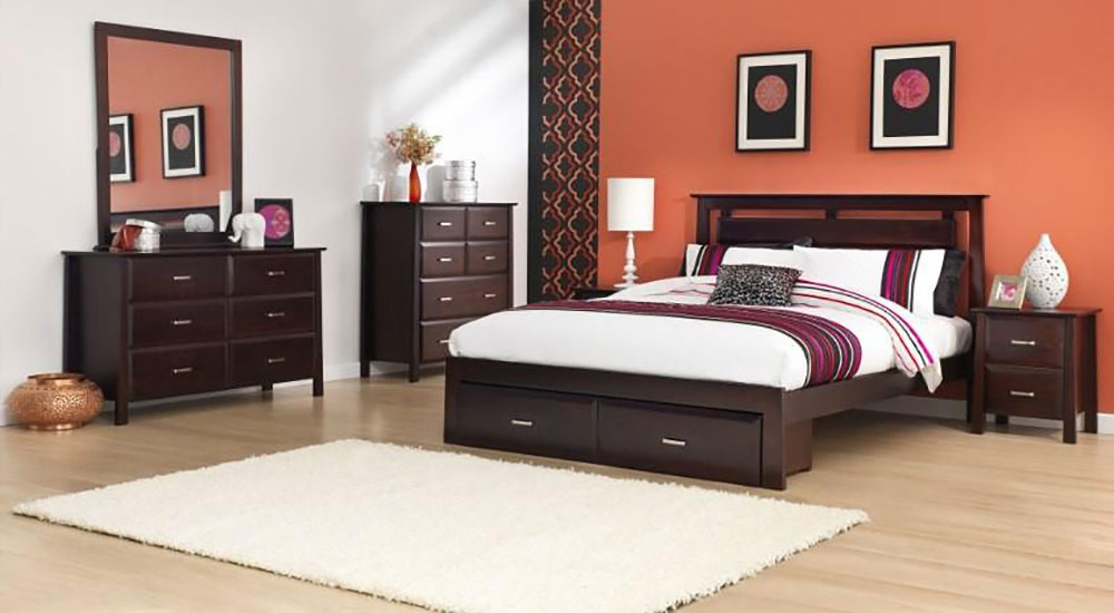 Coco 4 Piece Bedroom Suite