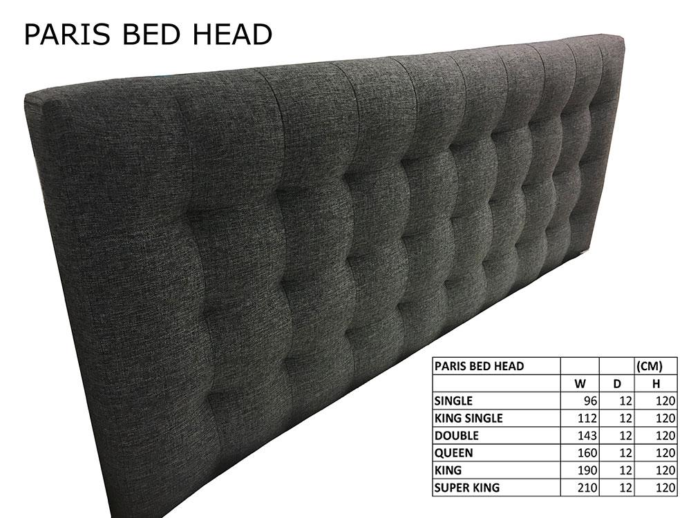 Paris Bed Head