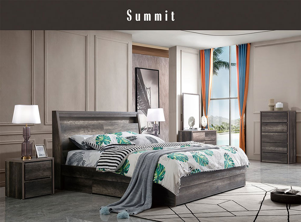 Summit 4 Piece Bedroom Suite