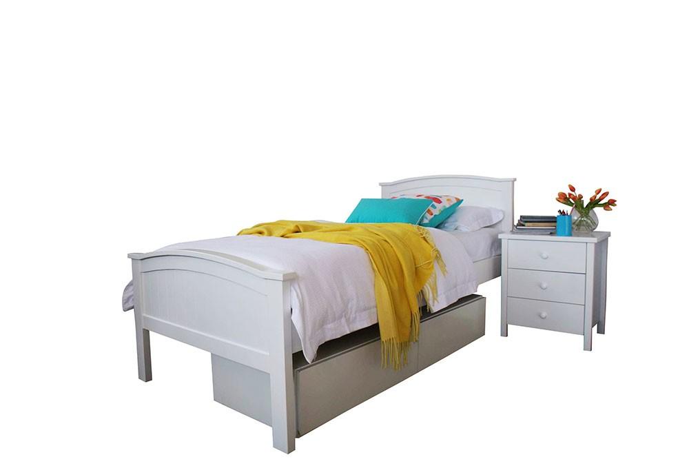 Stella Panel Timber Bed Frame