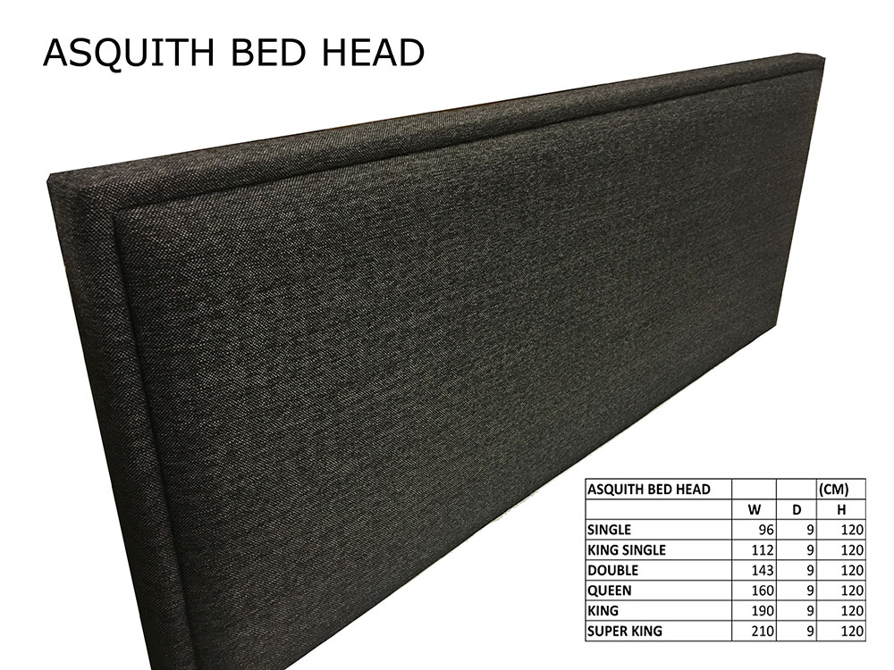 Asquith Bed Head