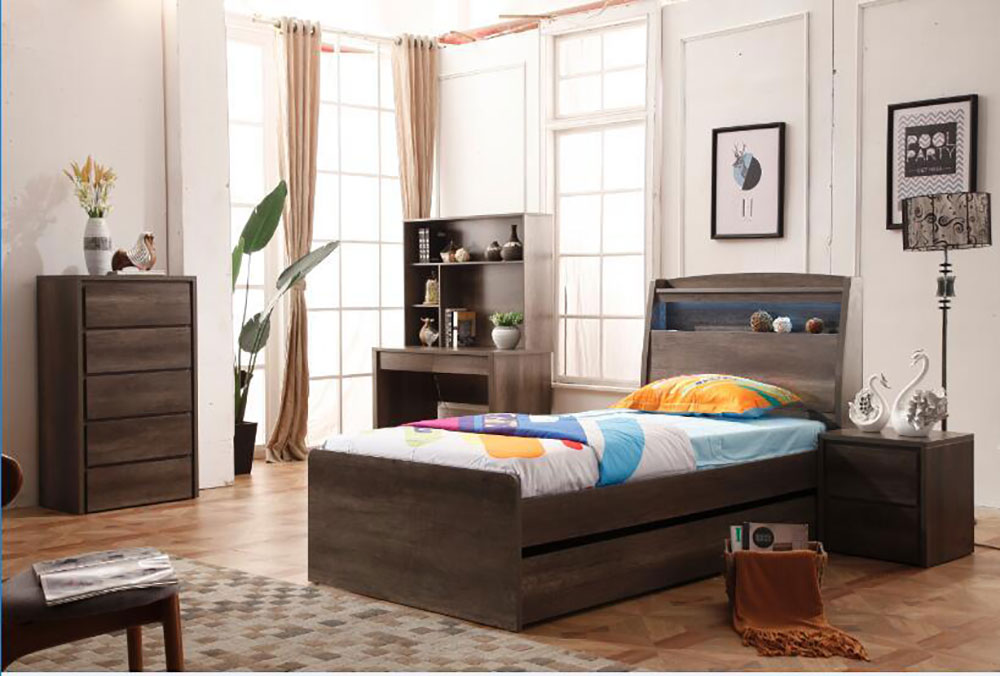 Photon Timber Bed Frame