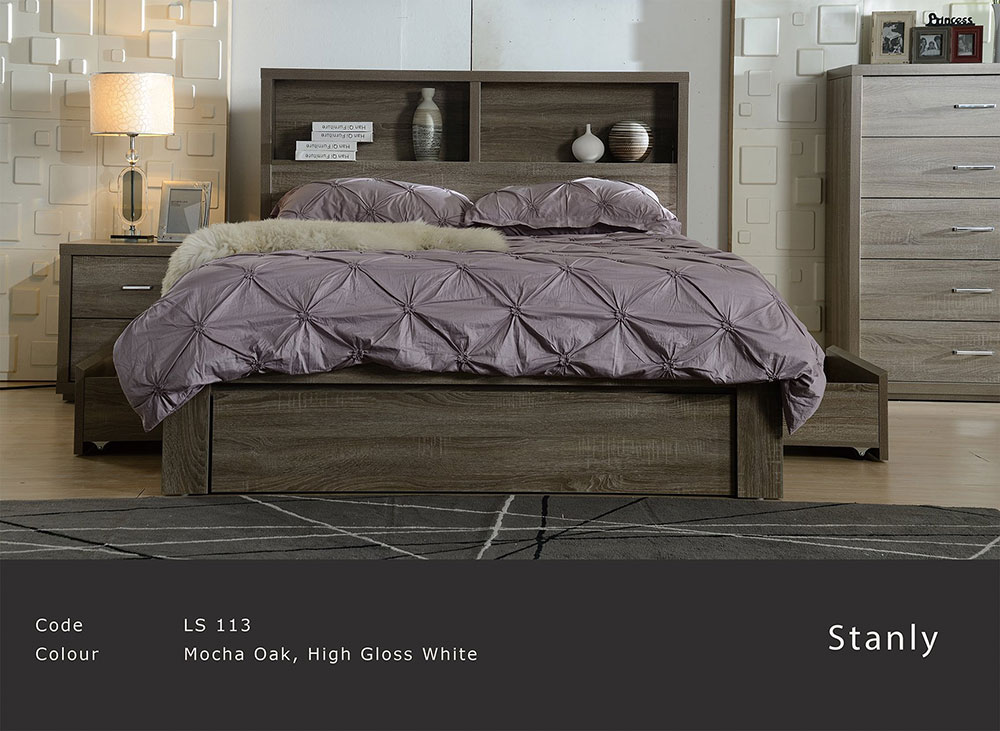 Stanly 4 Piece Bedroom Suite