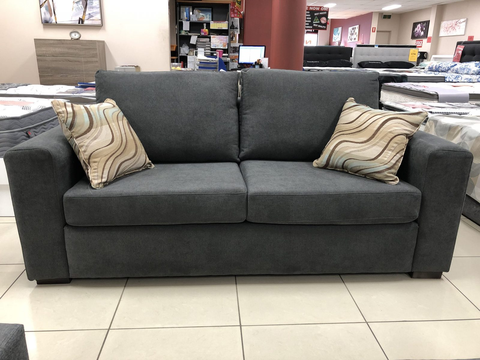 Newton 2.5 Seater Sofa Bed