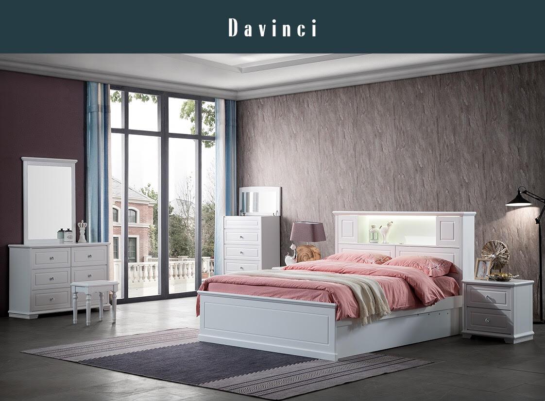 DAVINIC Timber Bed Frame