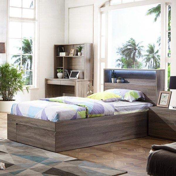 Delta Timber Bed Frame