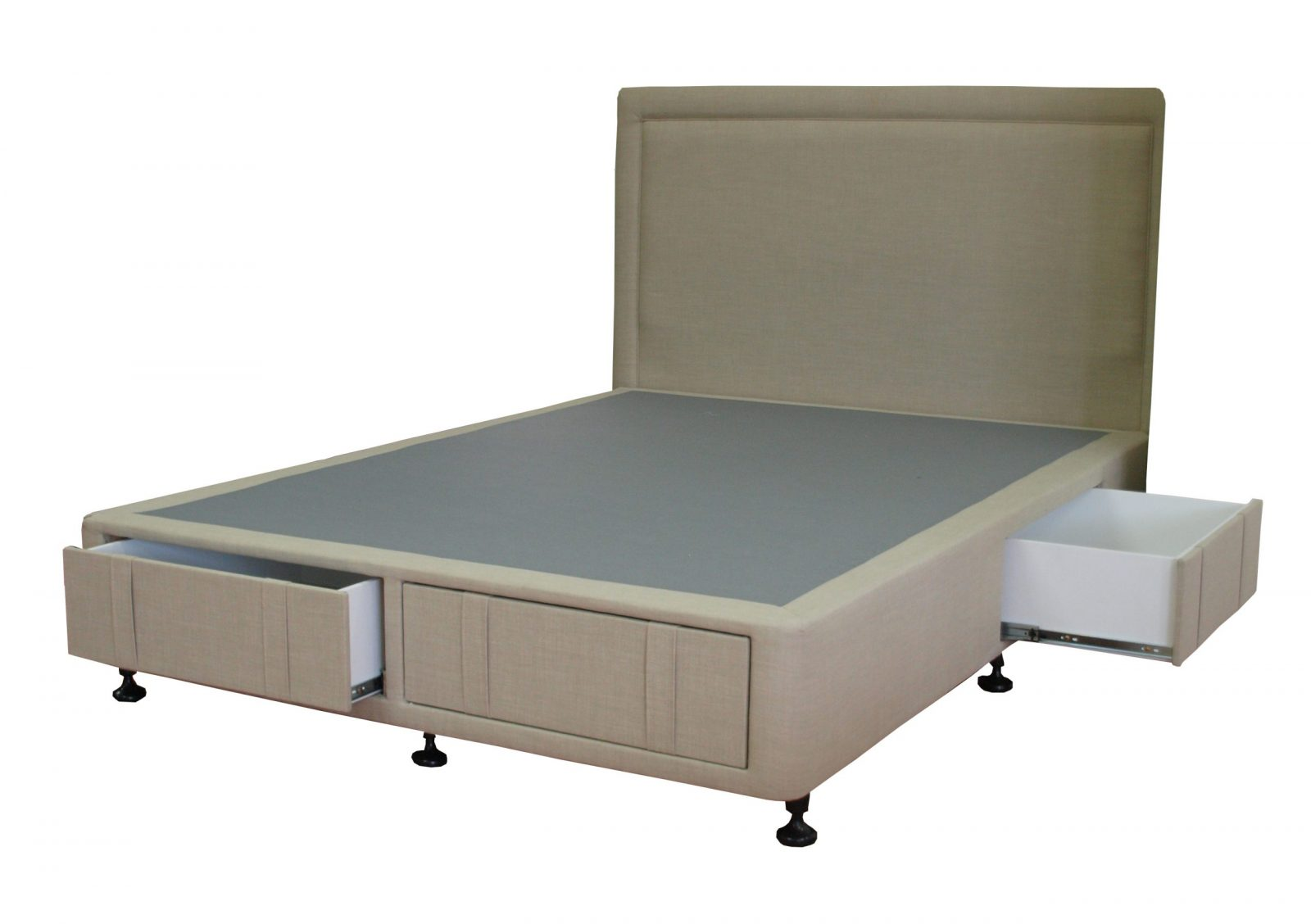 Bronte Bed Head with 4 Drawer Bed Base
