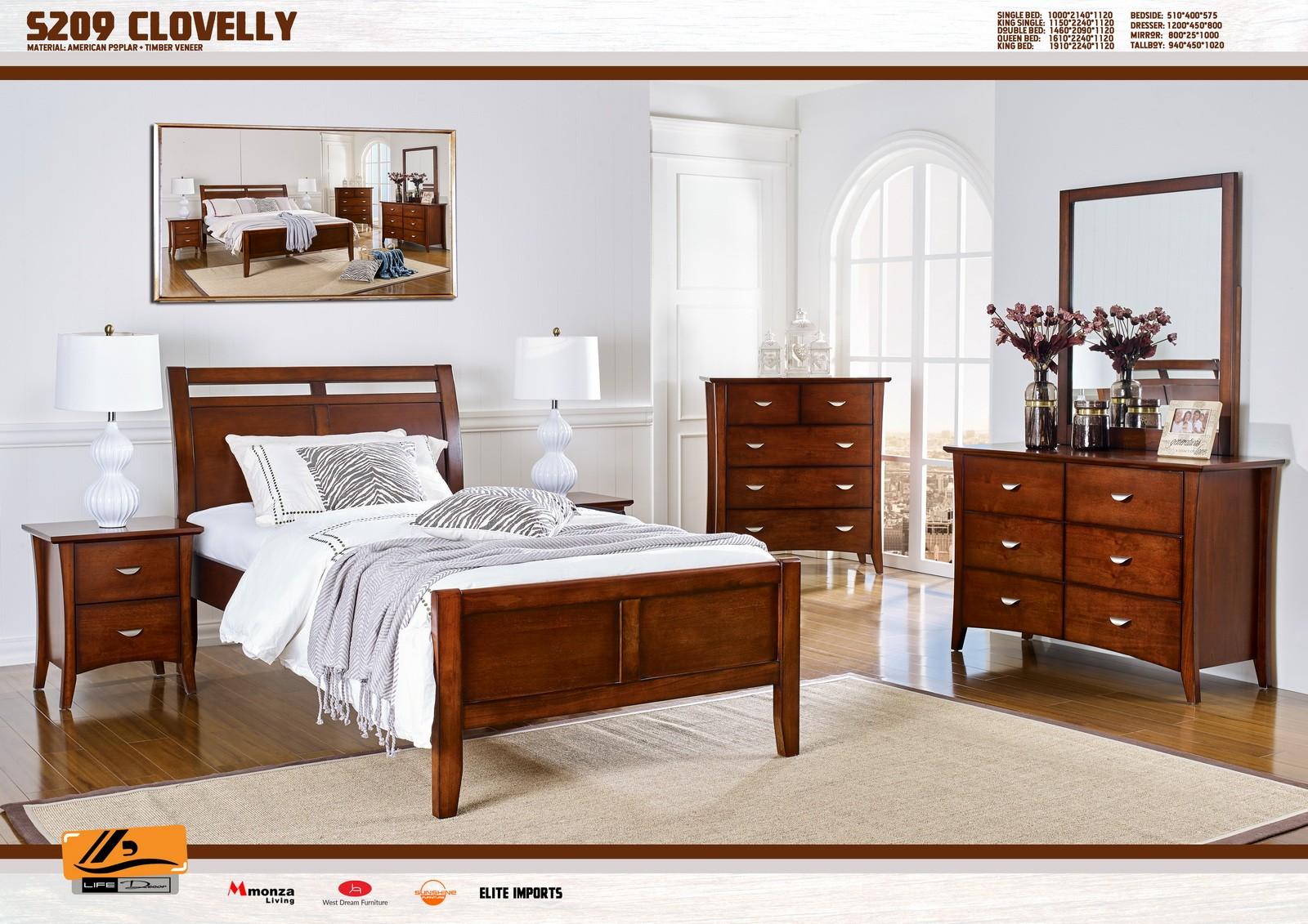 Clovelly Timber Bed Frame