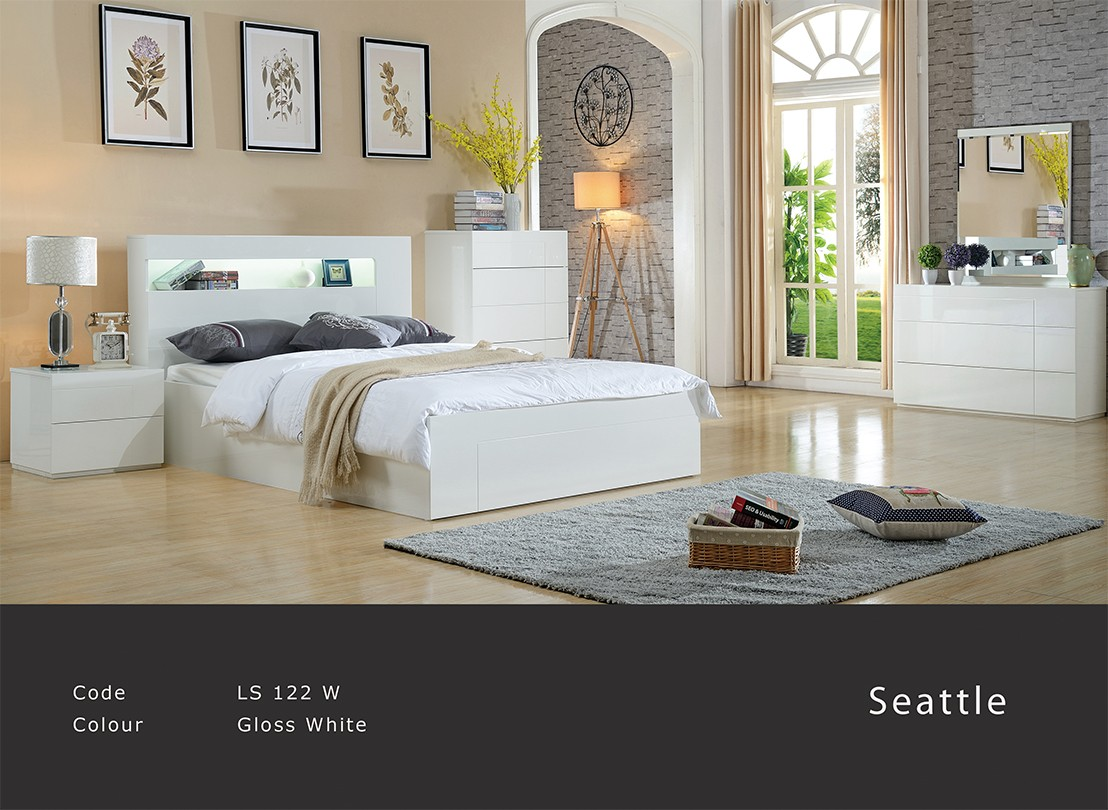 Seattle Timber Bed Frame
