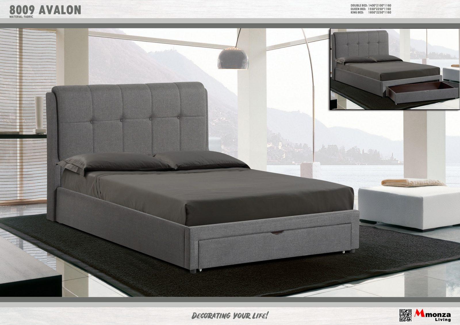 Avalon Drawer Bed Frame