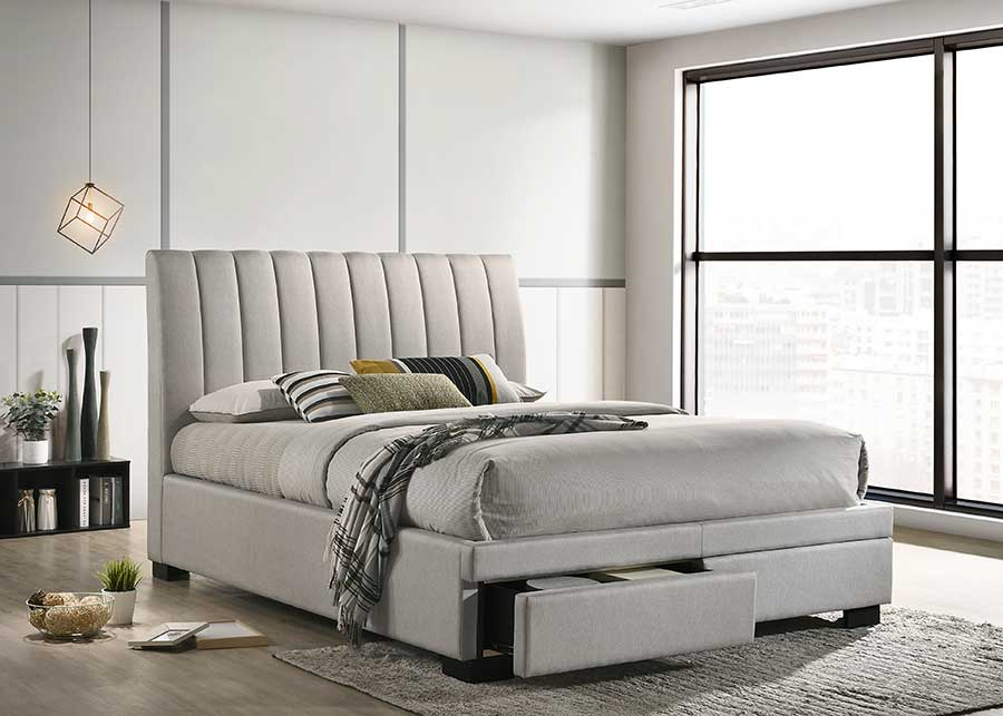 Glamis 2 Drawers Fabric Bed Frame