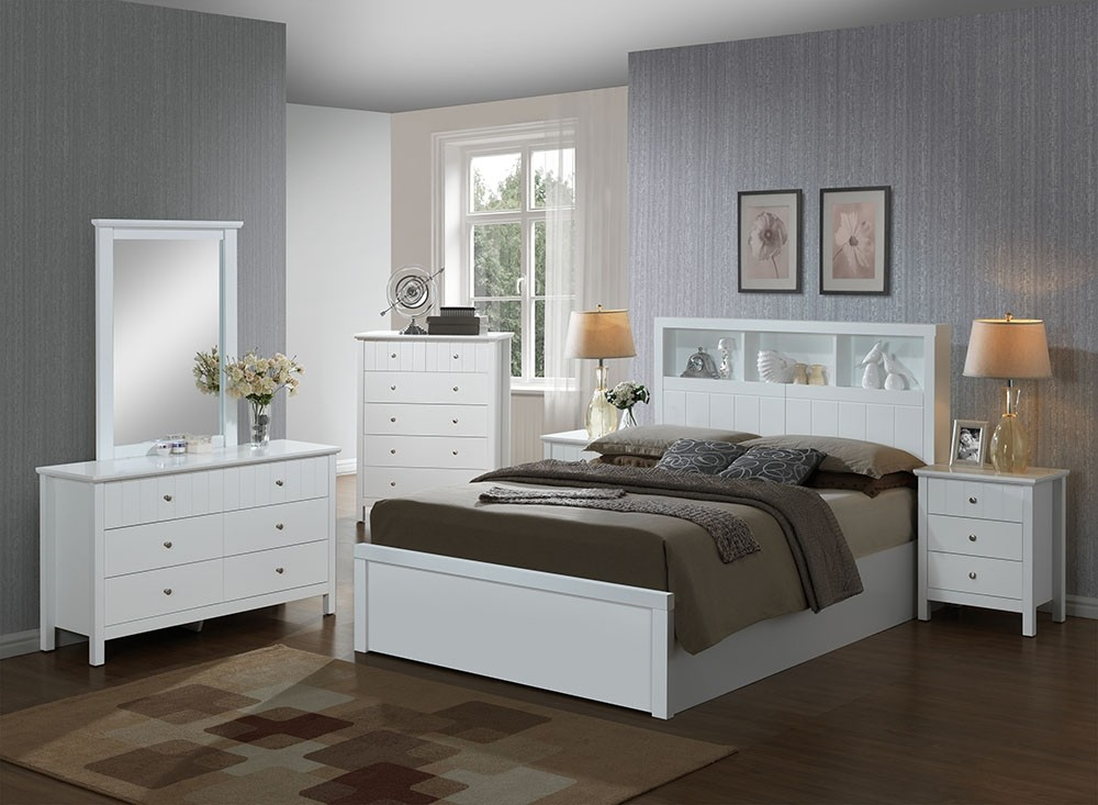 Oakland Gas Lift Timber Bed Frame