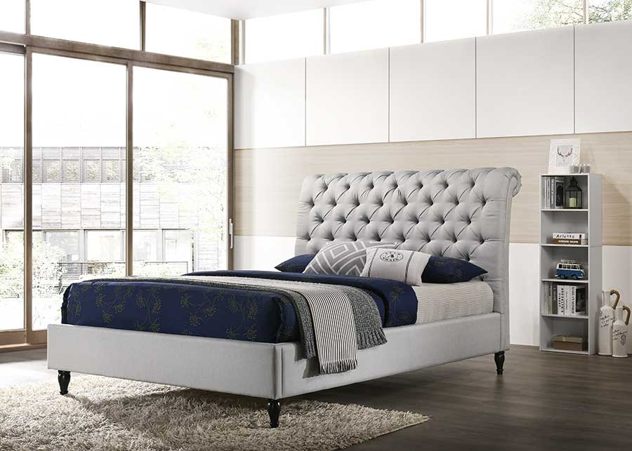 Sapphire Fabric Bed Frame