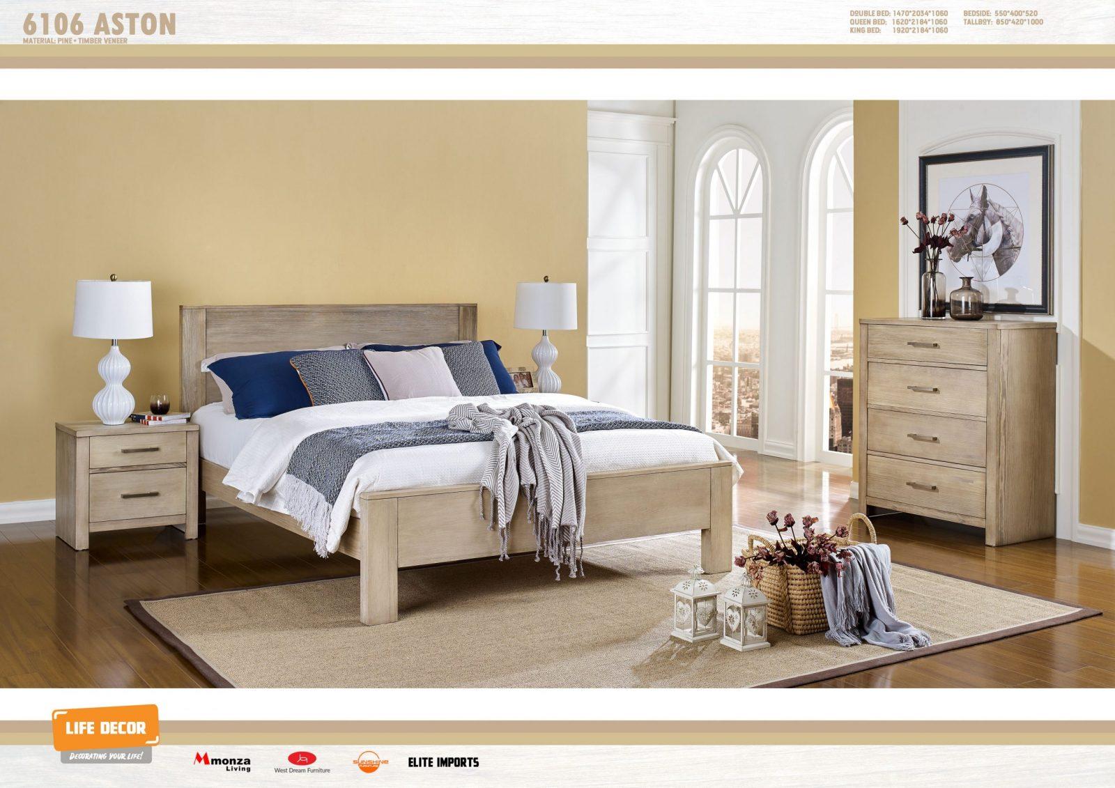 Aston 4 Piece Bedroom Suite