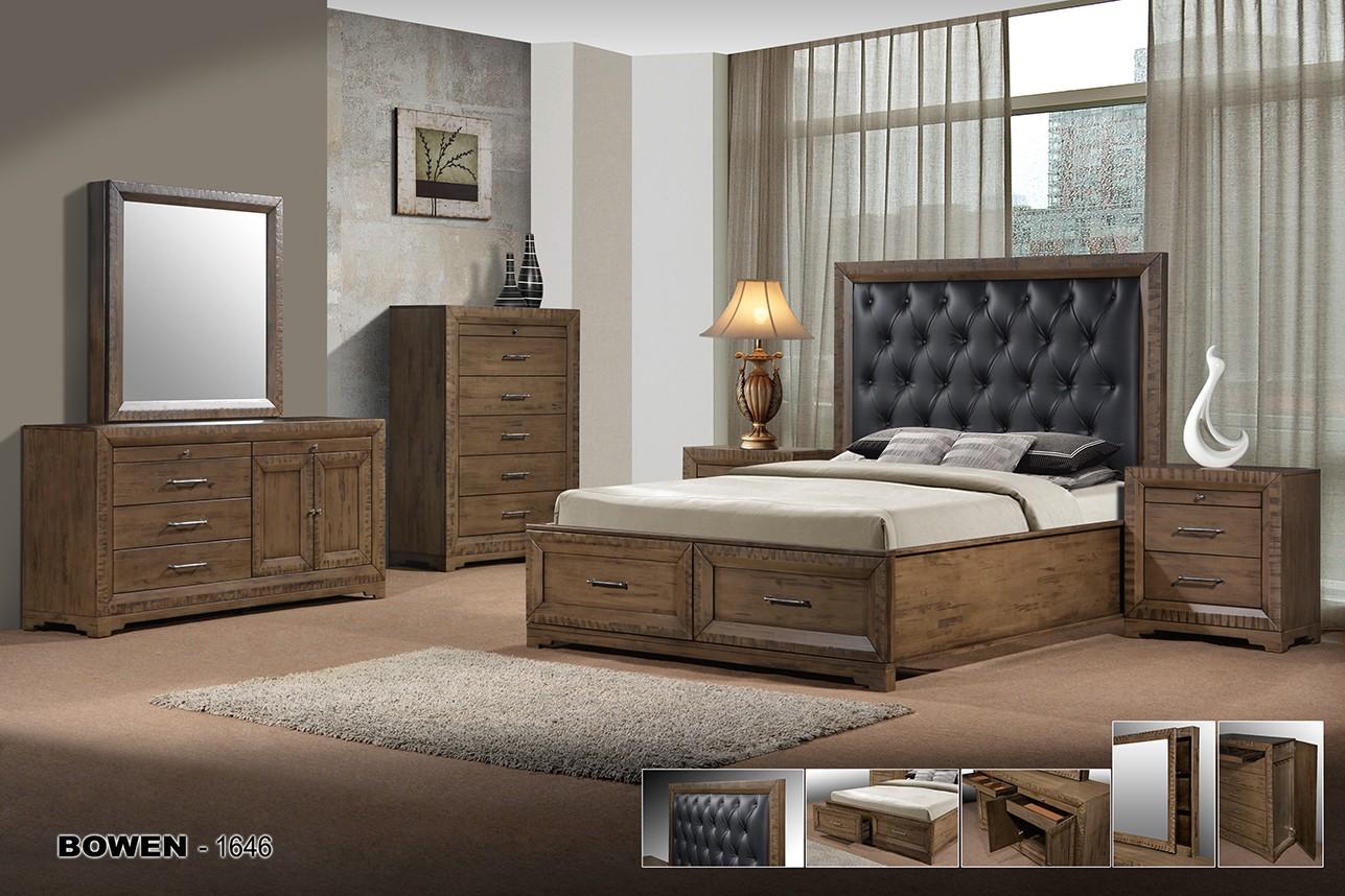 Bowen 4 Piece Bedroom Suite